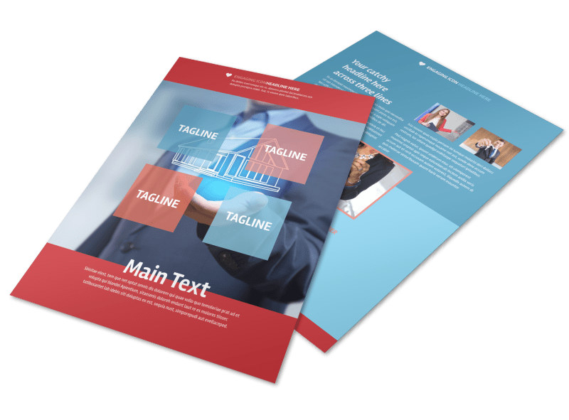 Top Real Estate Agent Flyer Template MyCreativeShop - contemporary flyer