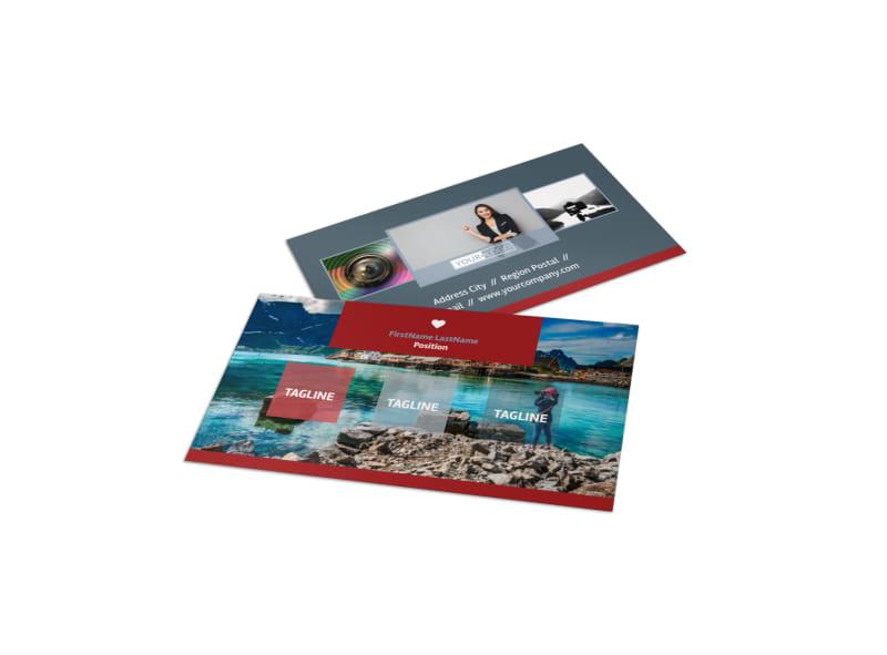 Photographer Business Card Template MyCreativeShop - card templates for pographers