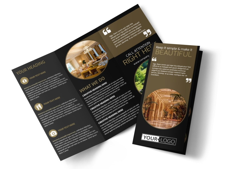 Five Star Luxury Hotels Brochure Template MyCreativeShop - hotel brochure template