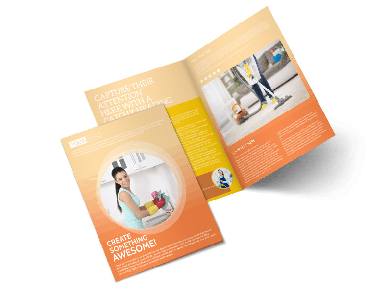 General Cleaning Services Brochure Template MyCreativeShop
