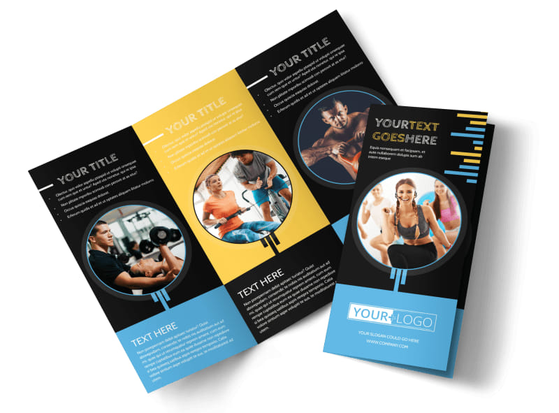 Your Personal Fitness Brochure Template MyCreativeShop