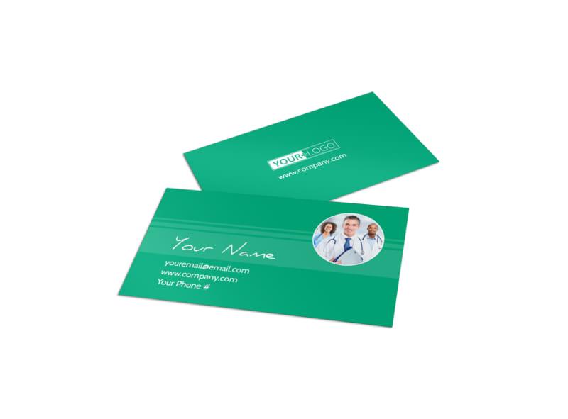 Medical Service Center Business Card Template MyCreativeShop - medical business card templates