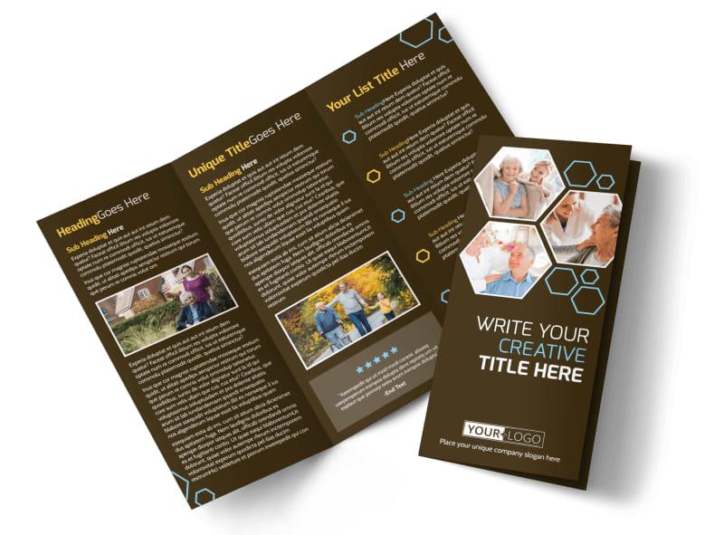 Reliable Home Healthcare Brochure Template MyCreativeShop - healthcare brochure
