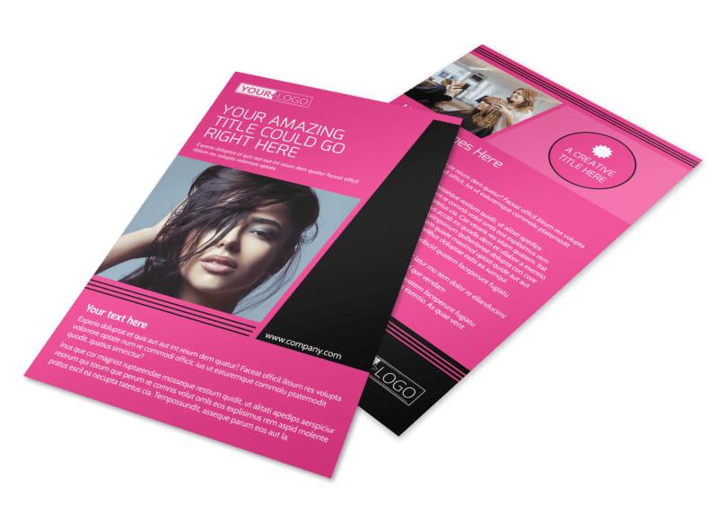 The Beauty Parlour Flyer Template MyCreativeShop