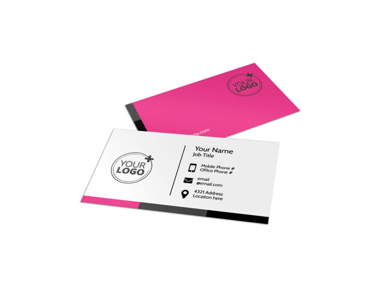 The Beauty Parlour Business Card Template MyCreativeShop - Buisness Card Template