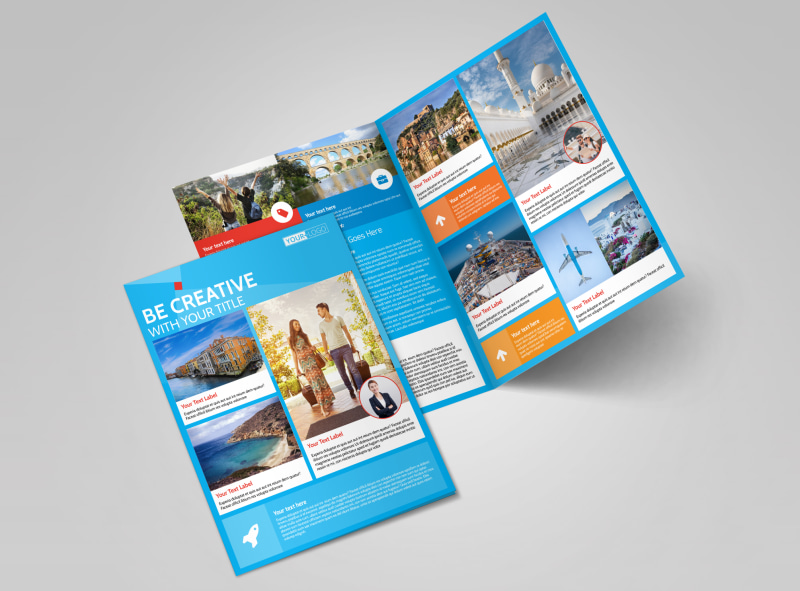 Awesome Travel Agents Brochure Template MyCreativeShop