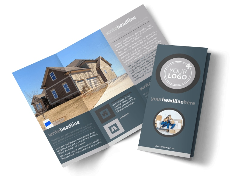 Affordable Moving Company Brochure Template MyCreativeShop - Company Brochure Templates