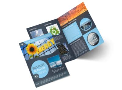 Energy Environment Brochure Templates Mycreativeshop
