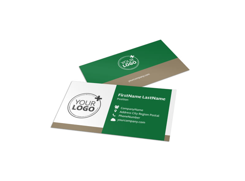 Food Co-op Business Card Template MyCreativeShop - business card template