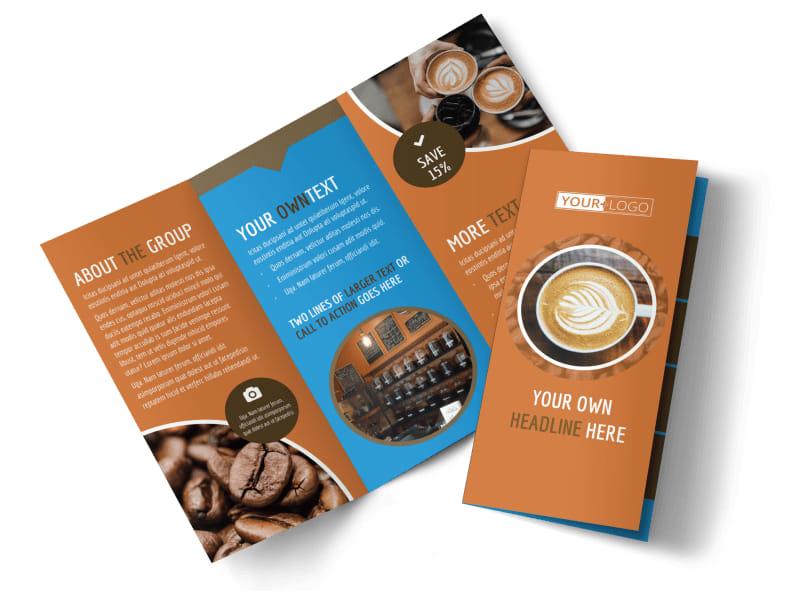 Hot Coffee Shop Brochure Template MyCreativeShop