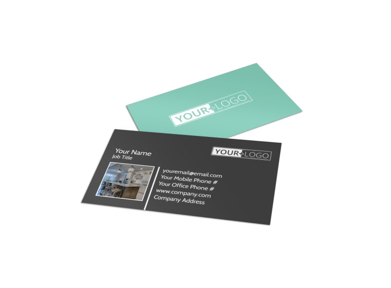 Kitchen Design Consultants Business Card Template MyCreativeShop