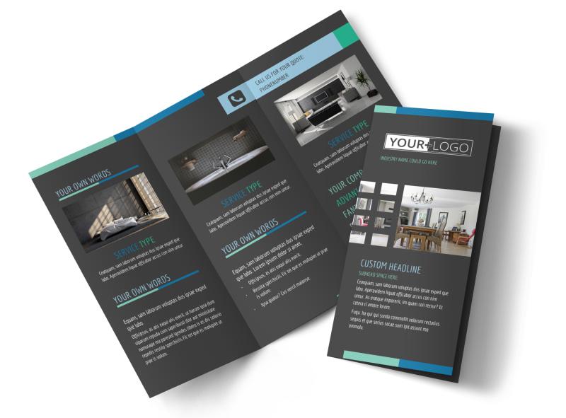 Interior Design Professionals Brochure Template MyCreativeShop