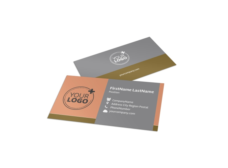 Valley Veterinary Clinic Business Card Template MyCreativeShop