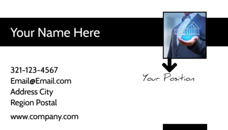 business card template how to make a card that stands out