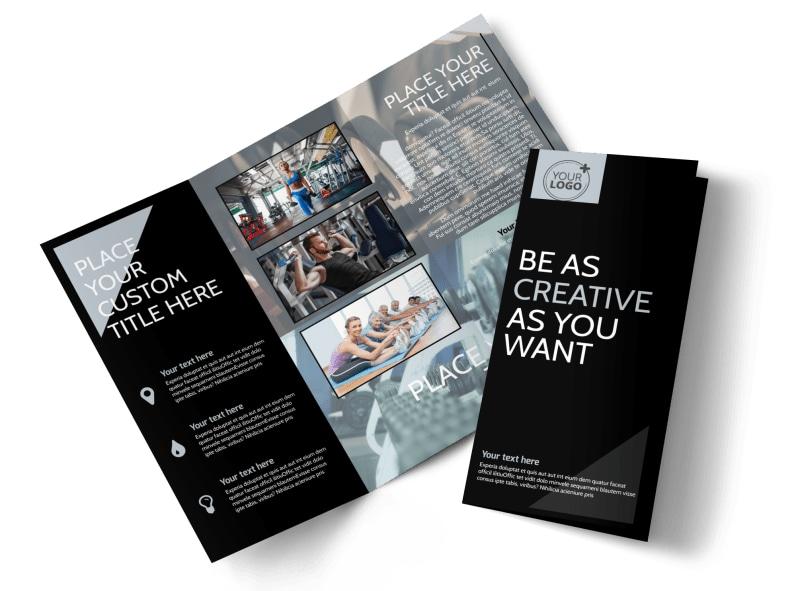 Local Gym Brochure Template MyCreativeShop