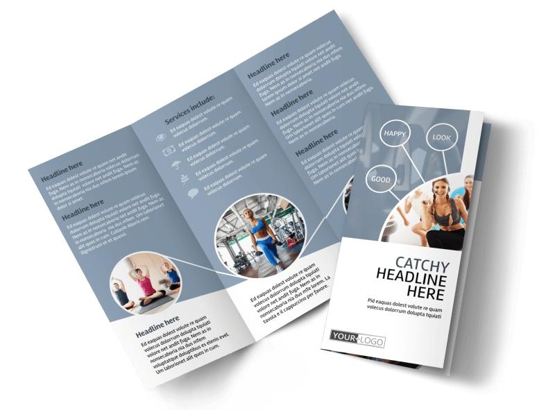 Get Fit Gym Brochure Template MyCreativeShop