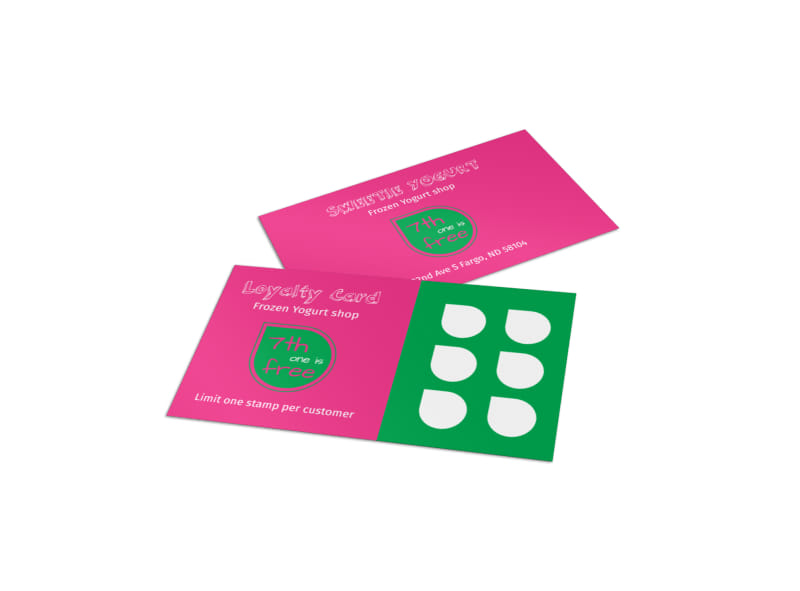 customer card template - Intoanysearch