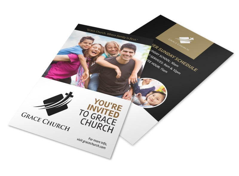 You Are Invited Church Flyer Template MyCreativeShop