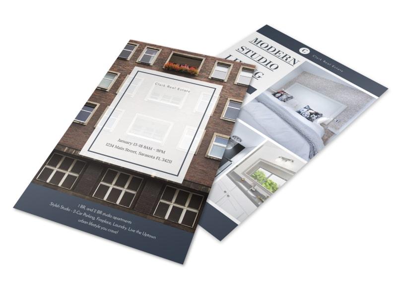 Condo Real Estate Open House Flyer Template MyCreativeShop