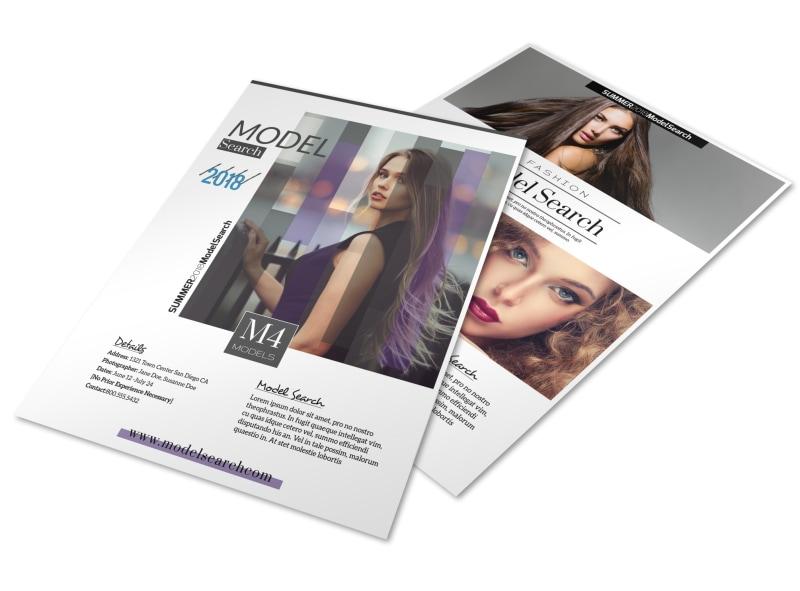Fashion Design Templates To Print Cover Templatesfashion brochure