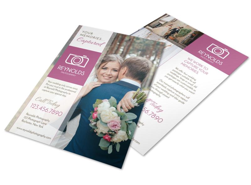 Reynolds Wedding Photography Flyer Template MyCreativeShop