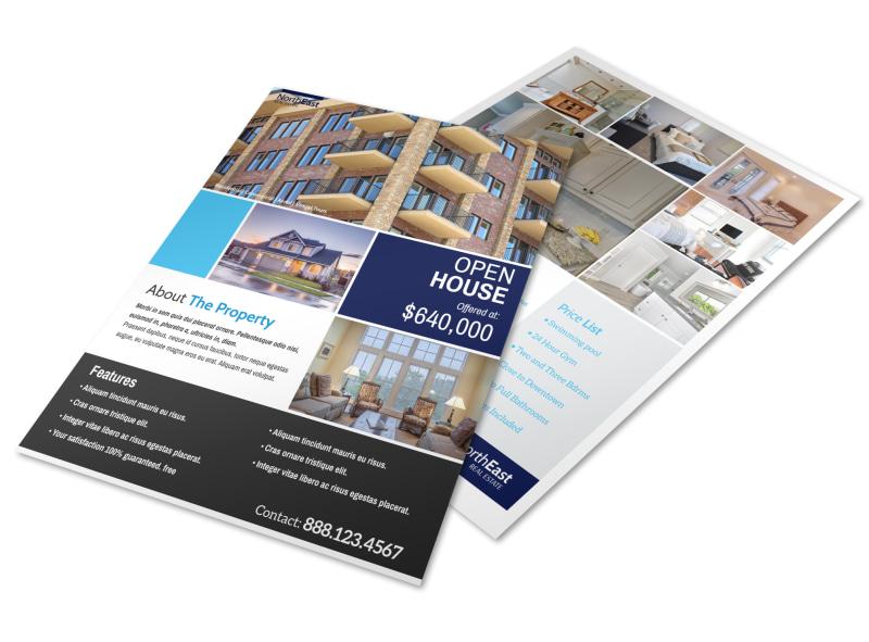Prime Open House Flyer Template MyCreativeShop - open house flyer