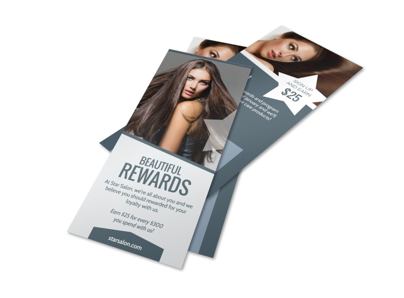 Design Custom Hair Salon Flyers Online MyCreativeShop
