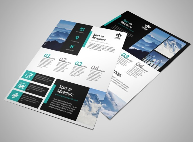 Modern Travel Vacation Packages Flyer Template MyCreativeShop - vacation brochure template