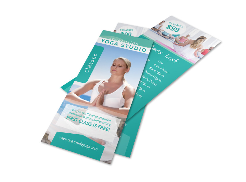 Yoga Studio Class Details Flyer Template MyCreativeShop - yoga flyer