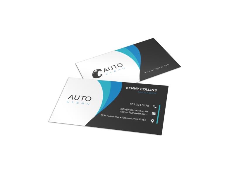 Automotive  Transportation Business Card Templates MyCreativeShop