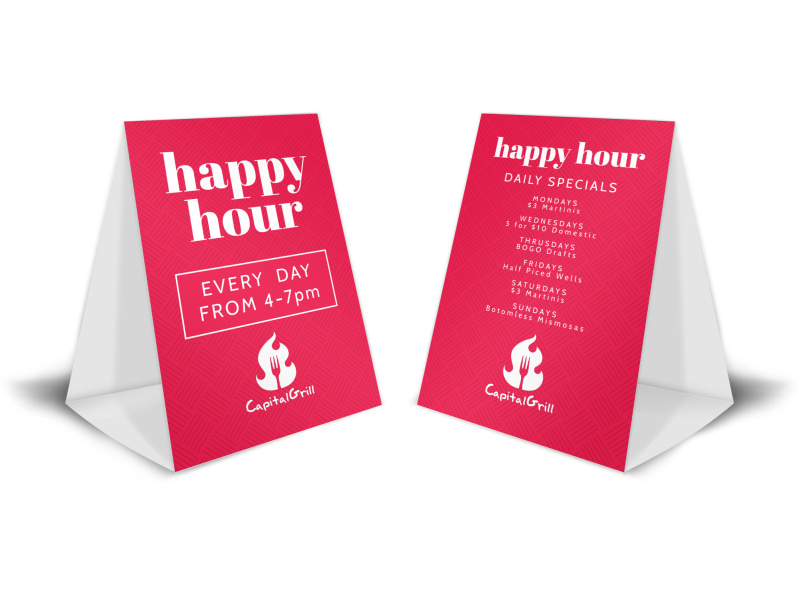 table tent cards template