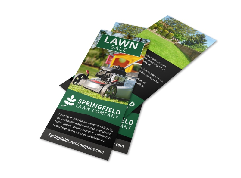 Lawn Company Flyer Template MyCreativeShop