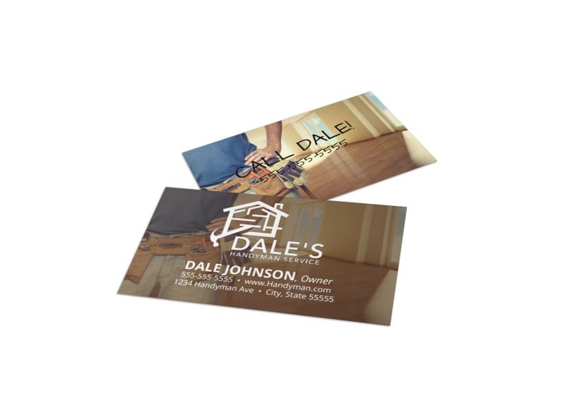 Construction Business Card Templates MyCreativeShop