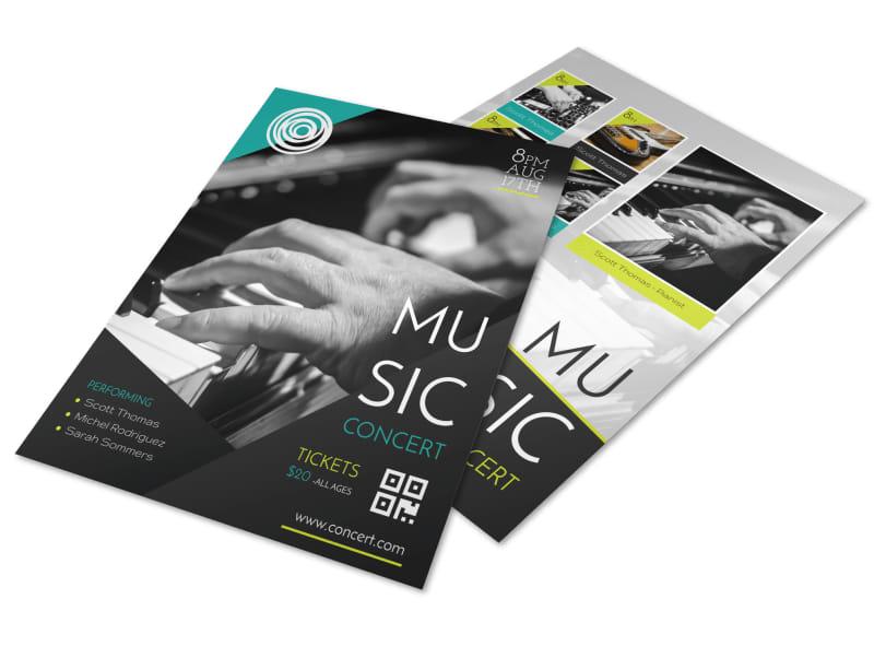 Creative Music Concert Flyer Template MyCreativeShop