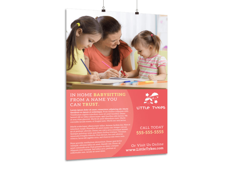 Child Care Templates MyCreativeShop