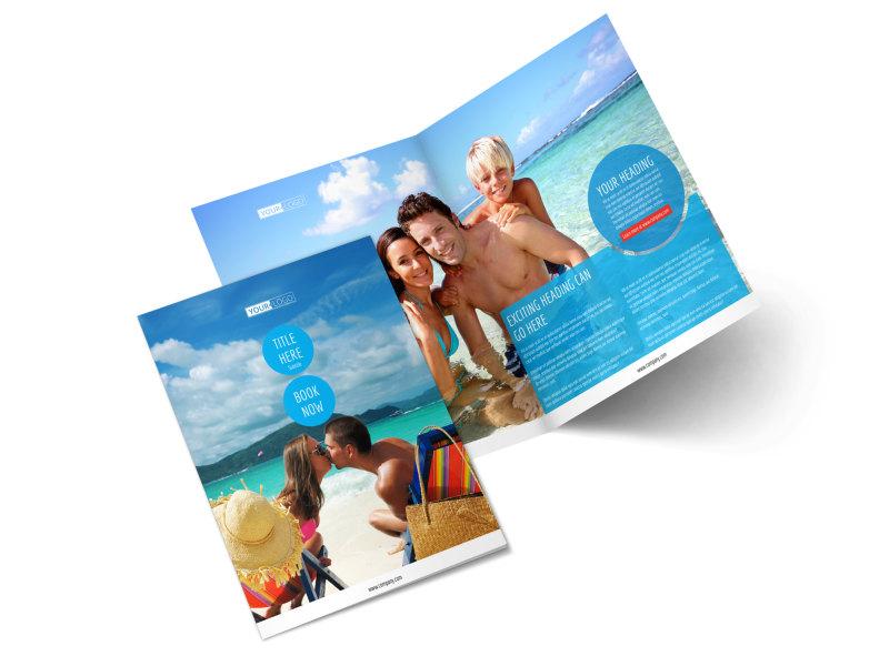Ocean Beach Resort Brochure Template MyCreativeShop