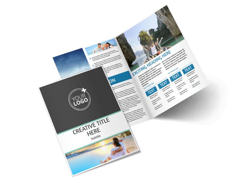 Tourism Activities Brochure Template MyCreativeShop