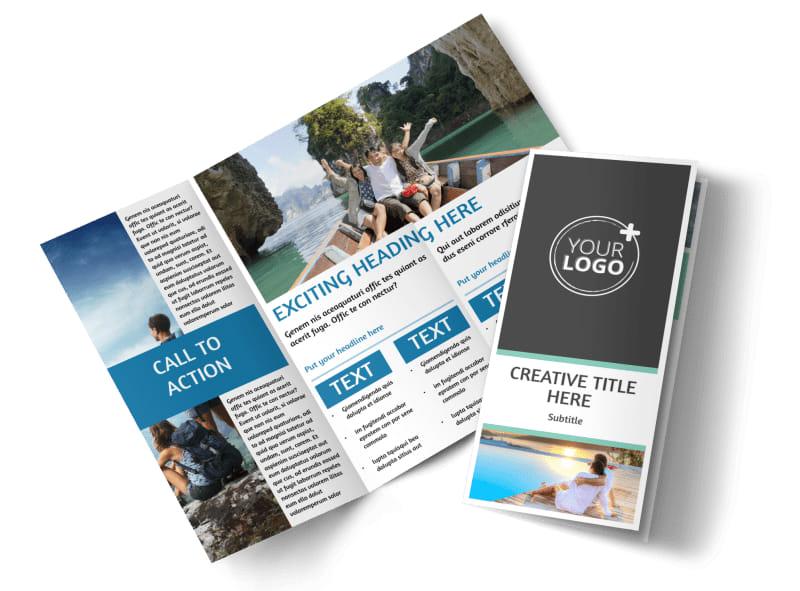 Tourism Activities Brochure Template MyCreativeShop - tourist brochure template