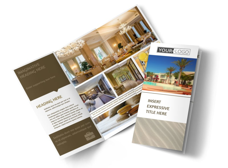 Luxury Hotels Brochure Template MyCreativeShop - hotel brochure template