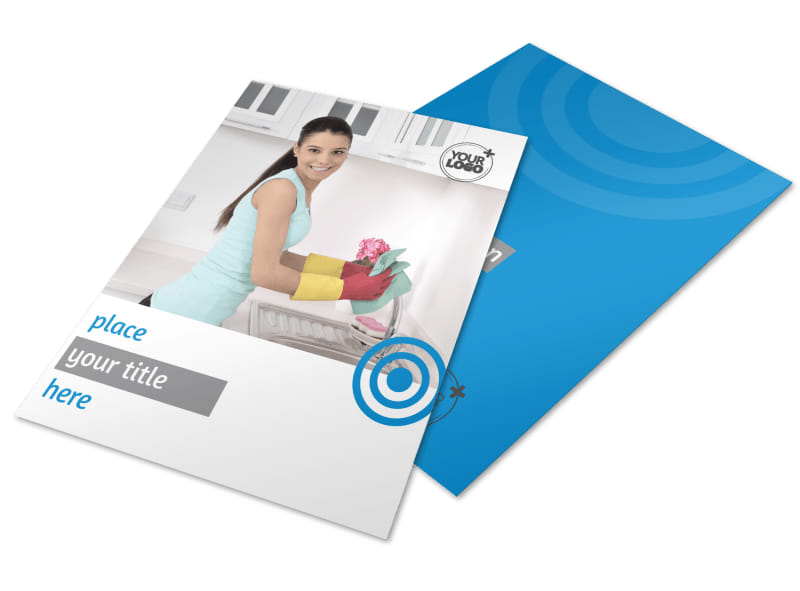 House Cleaning Service Flyer Template MyCreativeShop