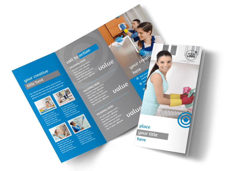 House Cleaning Service Brochure Template MyCreativeShop - services brochure