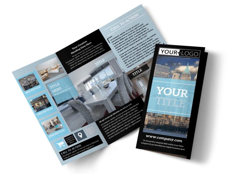 Urban Real Estate Brochure Template MyCreativeShop