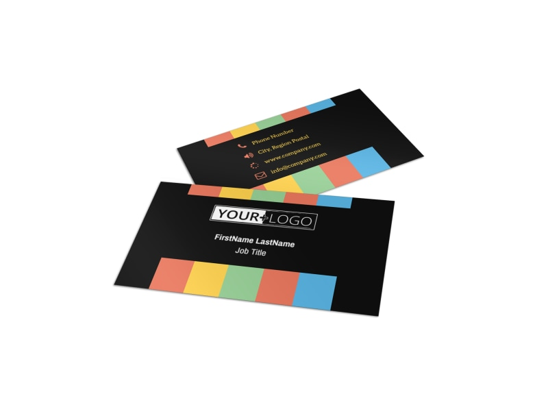 Go DJ Business Card Template MyCreativeShop