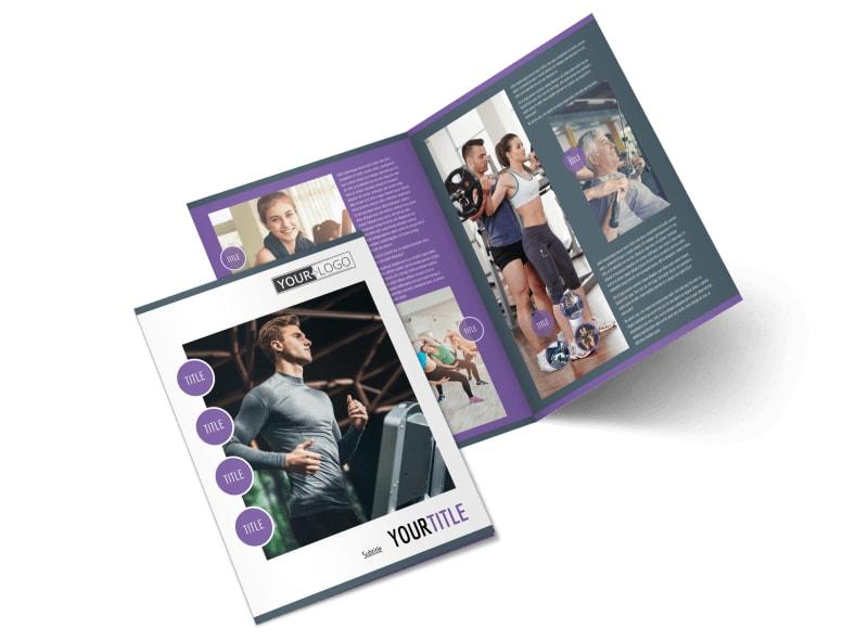 Fitness Gym Brochure Template MyCreativeShop