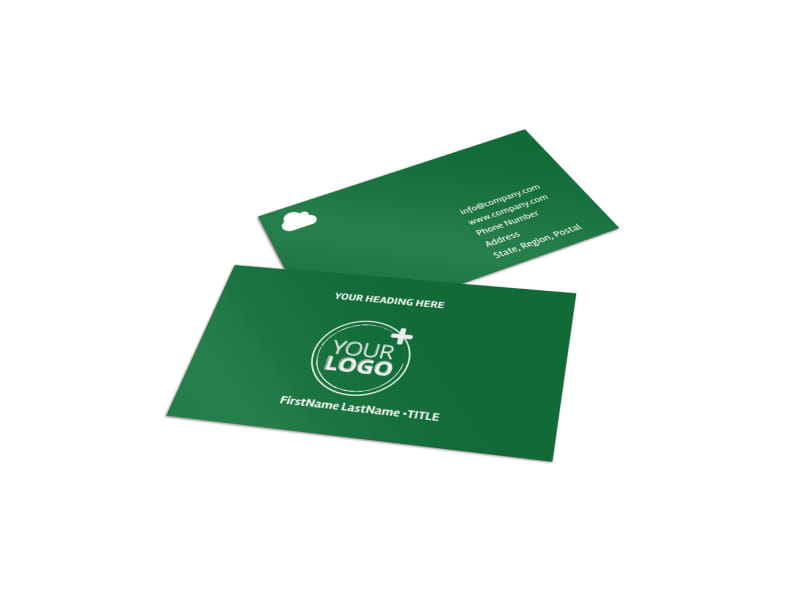 Golf Membership Business Card Template MyCreativeShop