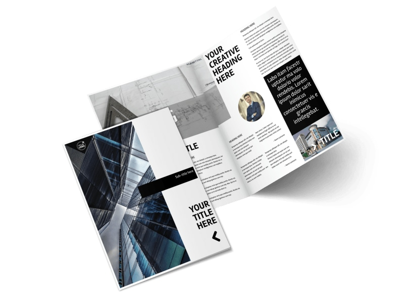 Architecture Brochure Templates Gallery - Template Design Free Download