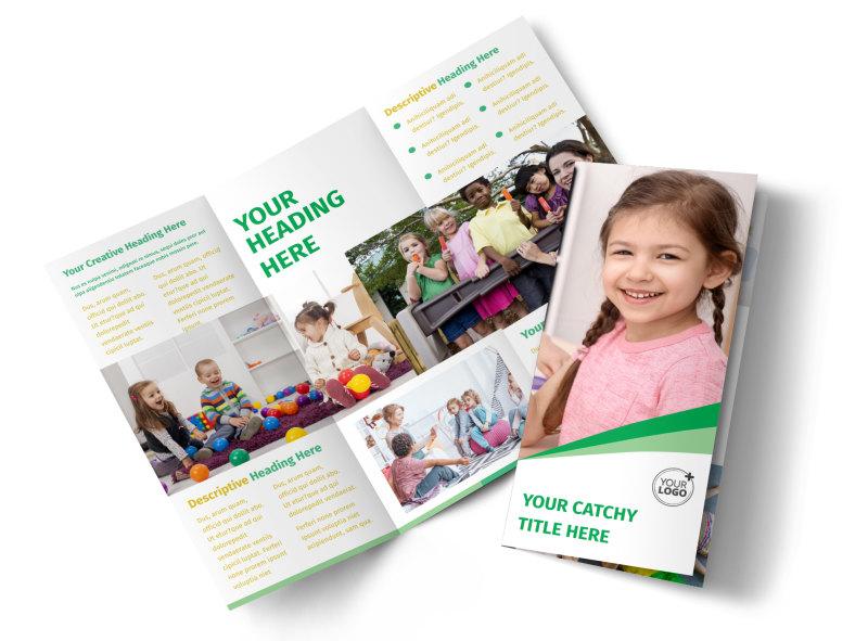 Child Daycare Flyer Template MyCreativeShop - daycare flyer