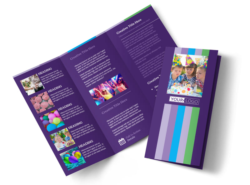 Party Entertainment Company Brochure Template MyCreativeShop - Company Brochure Templates