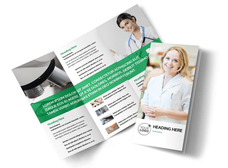 tri fold brochure online