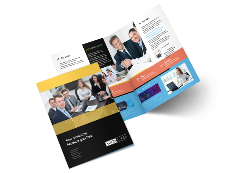 Project Management Consulting Firm Brochure Template MyCreativeShop